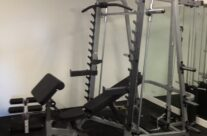 Gym Flooring + Smith Machine Installation