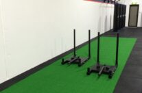 Gym Flooring – Artificial Turf Sled Track Installation – Sydney NSW