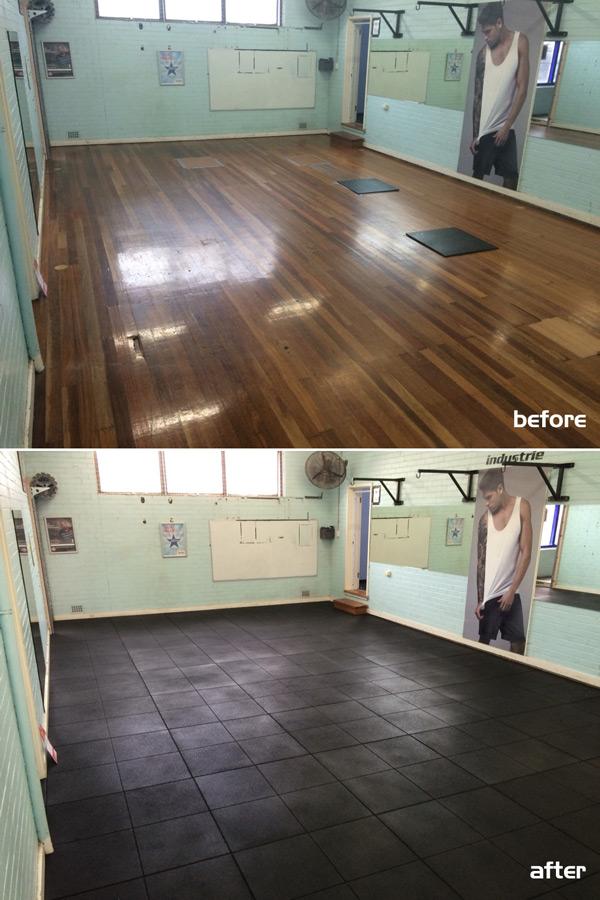 Gym Flooring Tiles Installation – Sydney NSW