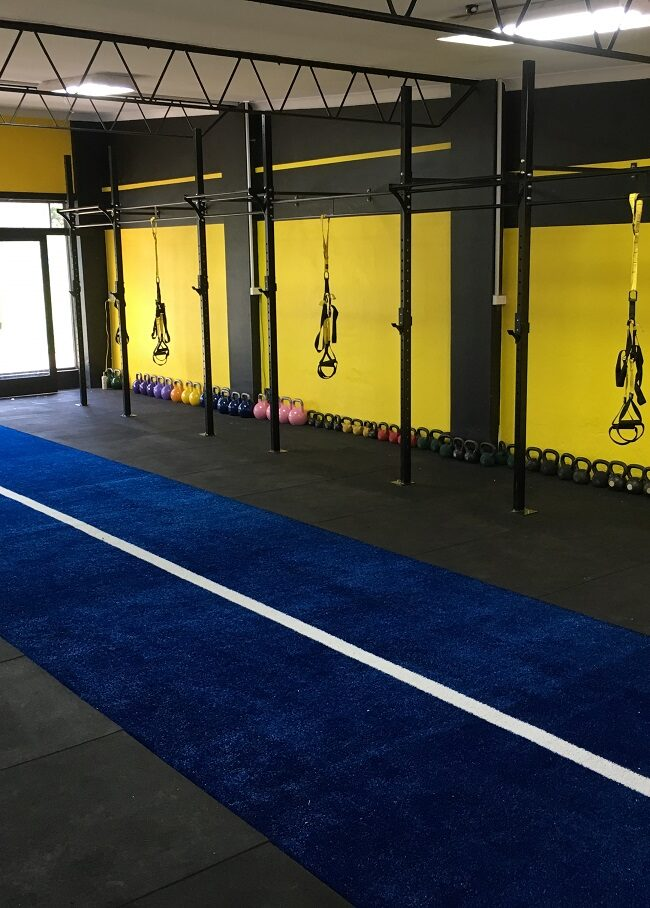 Gym Sled Track Installation – Sydney NSW