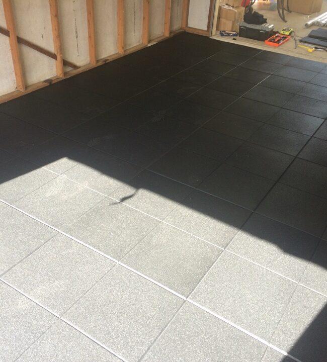 Rubber Gym Flooring Installation – Sydney NSW