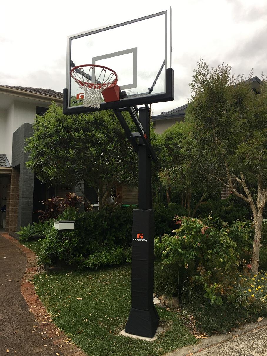 Goalrilla Basketball System Installation Sydney Nsw Sydney Gym