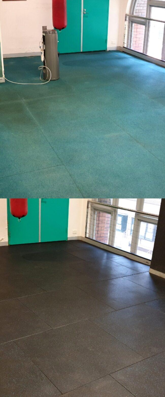 Rubber Gym Flooring – Sydney NSW