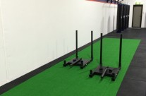Gym Flooring – Artificial Turf Installation – Gym Fit Out – Rouse Hill NSW